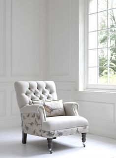 Game Bird Chair - Voyage Maison  Available to order at Groves Interiors - Different fabric prints available