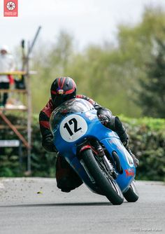 Classic motorcycle racing at the Cookstown 100. Photo by Stephen Mahon, 2015