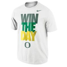 Nike College My School's Local T-Shirt. Win The Day - Oregon Ducks