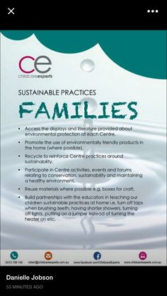 Sustainable practices for families Primary Education, Early Education, Childhood Education, Baby Learning Activities, Learning Stories, Counting Activities, Eylf Learning Outcomes, Outdoor Learning, Outdoor Play