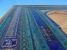 Shoh-i-zinda necropolis in Samarkand