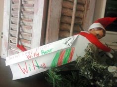 Overachieving Elf on the Shelf photos and other things appears to be exhausted....