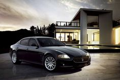 Maseratti Quattroporte!  Top of my dream list...