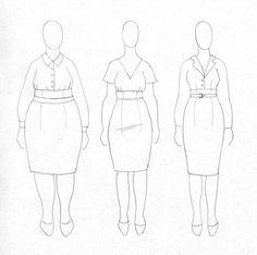 sukne6 Apron, Fashion, Moda, Fashion Styles, Fashion Illustrations, Aprons