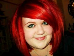 Awesome bright hair color