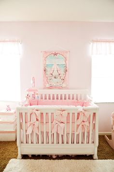 Pink Beach Carnival Nursery--I love this! if only I had enough room to do a gender specific nursery