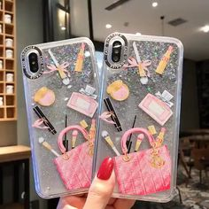 Cute Phone Cases You will love this cute phone case! Dynamic Liquid Makeup Bag New Design iPhone Case Iphone 8 Plus, Iphone 7, Coque Iphone, Iphone Phone Cases, Phone Covers, Girly Phone Cases, Pretty Iphone Cases, Diy Phone Case, Makeup Bag Pattern