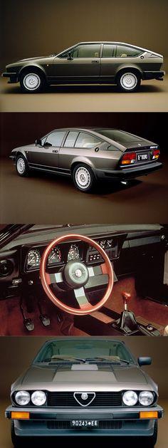 1980 Alfa Romeo GTV6 / Giorgetto Giugiaro / ITA / brown / 17-383