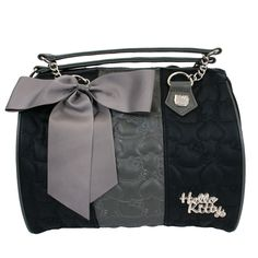 381c0a4a7 Hello Kitty Quilted Black/Grey Duffle - Hello Kitty - Brands Hello Kitty Bag ,