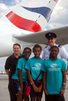 We support the Boys and Girls Clubs in Prince William County. As part of our outreach, we help promote the great things the clubs do.   Thank you to British Airways and the Greater Washington Boys and Girls Club for helping youth in our community. #britishairways   #boysandgirlsclub   #stem
