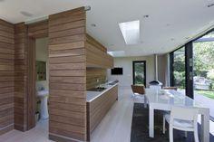 Разработка кухни в деревянном стиле