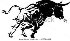 Charging Bull Stock Vectors & Vector Clip Art | Shutterstock
