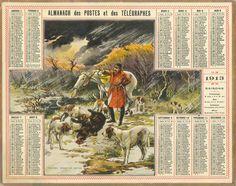 Almanach des Postes 1913