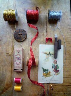 Estilismo en Decoración: Ideas para una Navidad Vintage/ Ideas for a Vintage Christmas by Kat Ibañez, Interior Stylist