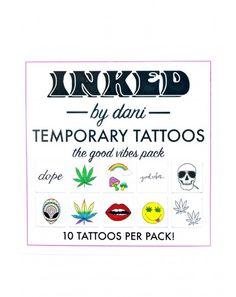 2f412ec8f #DollsKill #lookbook #photoshoot #INKEDbyDani #good #vibes #temporary # tattoo