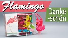 JanasBastelecke: Kreativer Montag 117 - Flamingo-Dankeschön