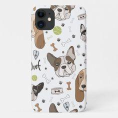 Bulldog Beagle cartoon pattern iPhone 11 Case  puppy playpen, cute lab puppy, shina inu puppy #beagleworld #dogsoffinland #jackrussell, back to school, aesthetic wallpaper, y2k fashion Cute Lab Puppies, Beagle Puppies, Beagle Tattoo, Puppy Playpen, Beagle Funny, Iphone 11, Iphone Cases, Beagle Gifts, Puppy Food