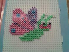 Sweet hama bead butterfly!