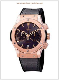 49ab06b79c7 Hublot Classic Fusion Racing Grey Dial Men s Chronograph 18K King Gold  Watch Price