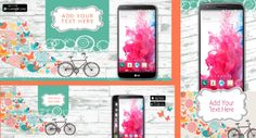 It is spring time, and a great opportunity to refresh your app marketing communications with this comprehensive spring templates pack.The pack includes Google Play featured image / screen shots, social covers, Twitter app promotion cards and Facebook install ads.