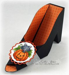 Witch's Shoe by Wattle - Cards and Paper Crafts at Splitcoaststampers