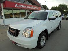 Used 2010 GMC Yukon XL SLT-1 1/2 Ton 4WD for Sale in Omaha NE 68137 Auto Time Omaha