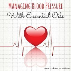 Hypertension, or high blood pressure, is a silent killer that is often undiagnosed. Here are some ideas for managing blood pressure with essential oils.