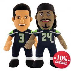 Seattle Seahawks Dynamic Duo Bleacher Bundle (10% Savings!) - $35.99