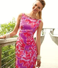 A little Valentine's love splashed all over this beautiful dress
