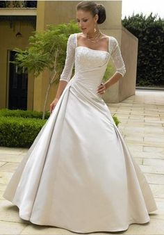 if I were to ever have sleeves on my wedding dress, this would be what I would want
