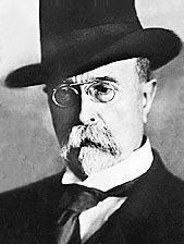 Tomáš Garrigue Masaryk - first Czechoslovak president.