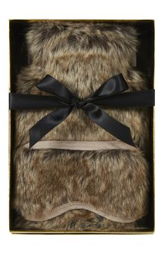 Primark faux fur hot water bottle gift box!