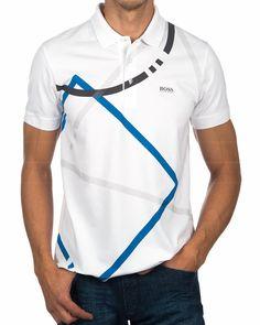 Polos HUGO BOSS ® Blanco ✶ Paddy 4 | ENVIO GRATIS Polo Hugo Boss, Hugo Boss Man, Camisa Polo, Mens Polo T Shirts, Shirt Men, Steve Mcqueen Style, Camisa Floral, Armani White, Polo Shirt Design