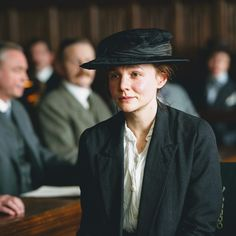 Carey Mulligan  From : Suffragette - 2015  Characters : Maud Watts