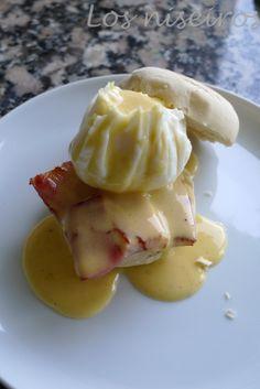 Los Niseiros: Huevos a la Benedictina, animáos a probarlos.