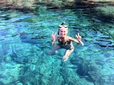 crystalclear teal water while snorkelling around Tagomago Island is so inspiring