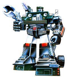 Botch's Transformers Box Art Archive - 1984Autobots - Hound