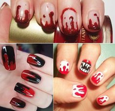 ideas for halloween nail art