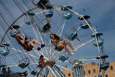 You can't beat the joy that comes with the fair! Amusement rides are just one of the many things available for those that have a touch of a wild side. #1infairfun #allentownfair #midway #rides #swing #joy #happiness #fun #summerfun