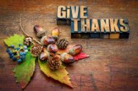 Photo about Give thanks - Thanksgiving concept - text in letterpress wood type printing blocks with cone, acorn, leaf and berries fall decoration. Image of thanking, type, grunge - 60219890 Thanksgiving Fun Facts, Thanksgiving Quotes Images, Thanksgiving Day 2019, Thanksgiving Greetings, Christian Women Blogs, Give Thanks, Thankful, Wooden Blocks, Pine Cones