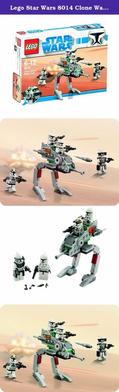 Lego Star Wars 8014 Clone Walker Battle Pack. Regosuta Wars From 6 years of age: Age Battery: unnecessary LEGO and the LEGO logo are trademarks of the LEGO Group. (C) 2009 The LEGO Group. > More.