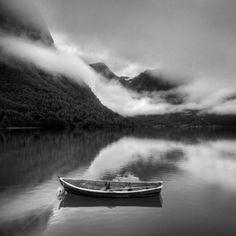 Ansel Adams - paesaggio bianco e nero