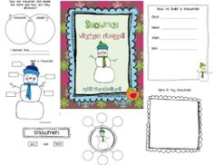 Snowman Freebie Pack and…