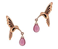 Rose Gold Pretty Collection Hummingbird earrings with amethyst rose quartz briolette drops Simple Style, My Style, Hummingbird, Kos, Rose Quartz, Amethyst, Rose Gold, Drop Earrings, Bracelets