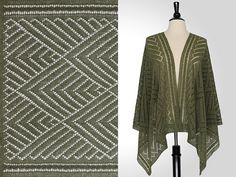 Ravelry: Cicely Rectangular Shawl pattern by Steve Rousseau