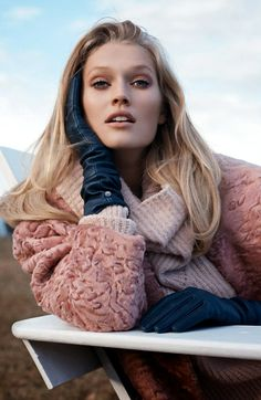 Toni Garrn for Vogue Ukraine
