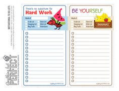 Motivational To Do Lists {Free Printable}