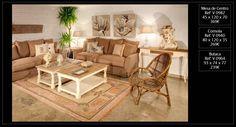 Para este salón de amplias dimensiones se ha optado por unir dos mesas de centro de color blanco y madera natural, de estilo country. Muebles de venta a través de nuestra tienda de Madrid. Los puedes ver en nuestra web http://www.originalhouse.info/