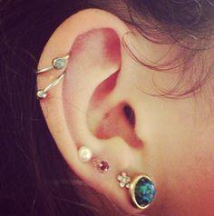 Piercing oreille 1
