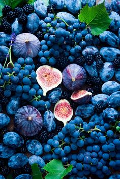 Fresh figs, grapes, prunes by letterberry on Creative Market - organic Food Wallpaper, Iphone Wallpaper, Bel Art, Image Fruit, Art Texture, Shotting Photo, Everything Is Blue, Drink Photo, Fruit Photography